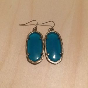Kendra Scott Blue Elle earrings